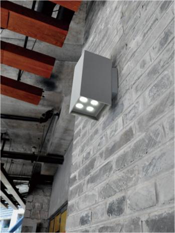 Sq Bi Directional Wall Mounted Luminaire Ark Lighting Ltd