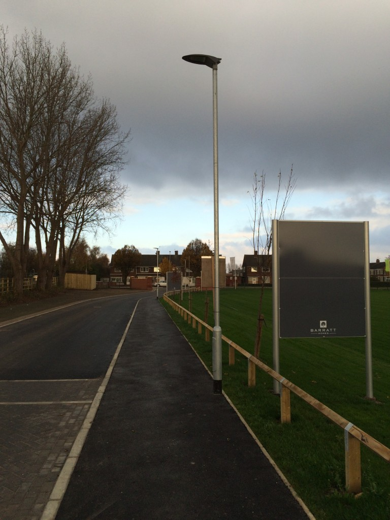 led street lighting barratts development hull ark lighting ltd