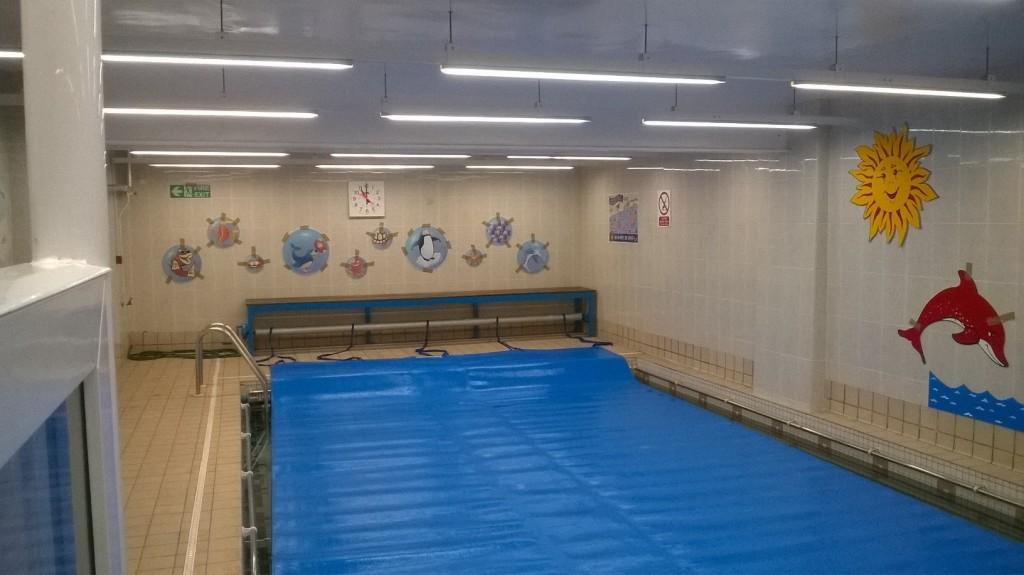 Linear LED Lighting for Swimming Pool